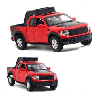 1:32 Scale Ford F150 Truck Die-cast Model Car with Light & Sound,Door Opening - intl