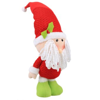 16 x 45cm Christmas Santa Soft Plush Doll Toy