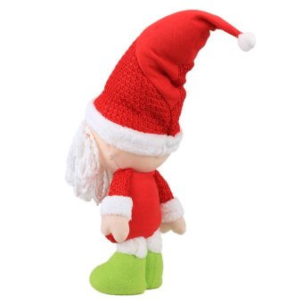 16 x 45cm Christmas Santa Soft Plush Doll Toy - picture 2