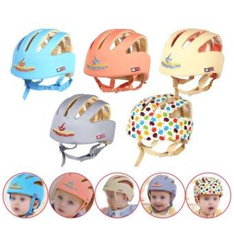 16.00*16.00 Infant Toddler Safety Helmet Baby Head Protection Hatfor Walking (Multi-color) - intl - 4