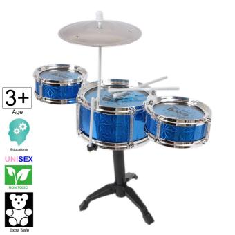18 inch tall Jazz Drum Toy Set (Large) - Cutie (Blue)