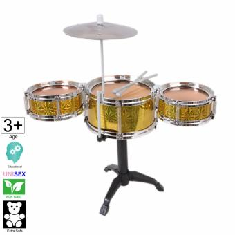 18 inch tall Jazz Drum Toy Set (Large) - Cutie (Gold)