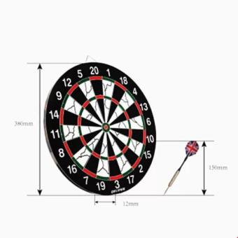 18 inches Professional Dart Board Sport with 6 pcs. Darts - 3