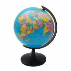 Geography puzzle toys for sale geography toys online brands 214cm rotating world earth globe atlas map geography education toy desktop decor 546g gumiabroncs Choice Image