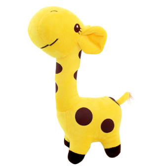 18cm Cute Giraffe Soft Plush Toy Animal Doll for Baby Kid BirthdayParty Christmas Gift Yellow
