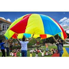 1.8M Rainbow Children Kids Play Parachute Educational Game Toy Tentwith 8 Handles - intl  sc 1 th 225 & Philippines | 6M Rainbow Color Children Kids Play Group Toy ...