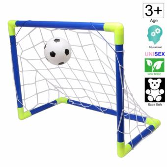 20 by 15 inch Football and Soccer Goal net Toy with Ball by Cutie