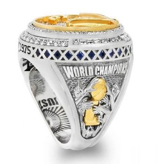 2016 Years NBA Playoffs Golden State Warriors Stephen Curry Champion Ring Men's Rings 15 # Diameter 23.5mm Circumference 73.2 - intl