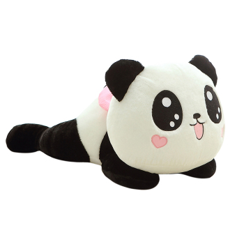 20cm Cute Plush Doll Toy Stuffed Animal Panda Pillow Quality Bolster Gifts - intl