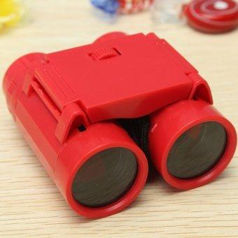 2.5 x 26 Kid Children's Magnification Toy Binocular Telescope + - 5