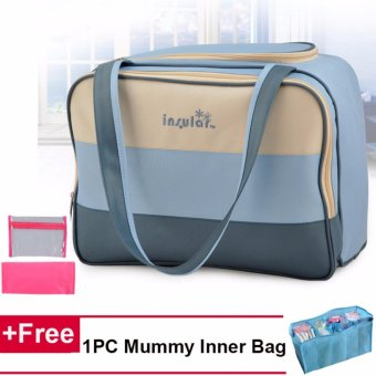 3 IN 1 Large Capacity Travel Multi-functional Mummy Baby Diaper Bag
