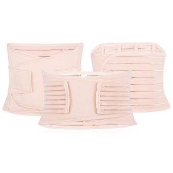 3 in1 Elastic Postnatal Waist Belt Postpartum Recovery Girdle Slimming Shapers Underwear L - intl - 3