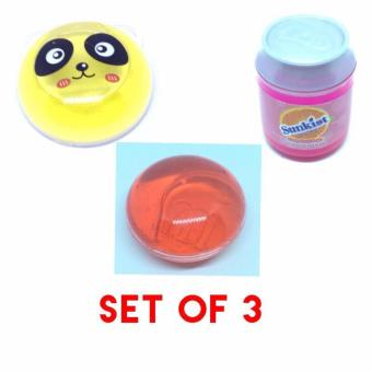 3 Kinds Jelly Slime Educational Toys Tiny (Assorted Color)