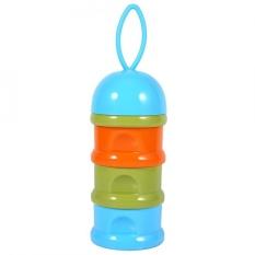 PHP 410 3 Layers Portable Infant Baby Milk Powder Formula Dispenser Case Box ...
