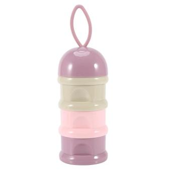 Philippines | 3 Layers Portable Infant Baby Milk Powder Formula Dispenser StorageBox Feeding Container #2 - intl Price Me