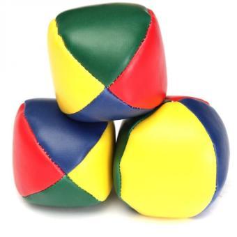 3 PCS Juggling Balls Set Classic Bean Bag Juggle Magic CircusBeginner Kids Toy Gift - Intl - 3