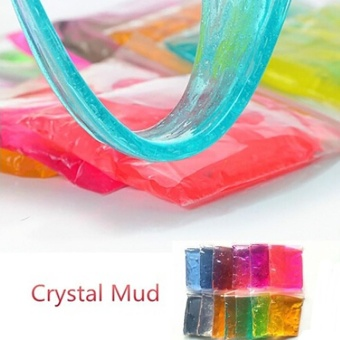 30g Clay Slime DIY Crystal Mud Play Transparent Magic PlasticineKid Toys - intl Price Philippines