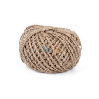 30Meter Natural Sisal Jute Twine 2mm Rustic Tags Wrap Wedding Decoration Crafts Twisted Rope String Cord Events Party Supplies(brown)
