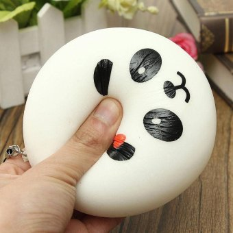 30Pcs Jumbo Medium Mini Random Squishy Soft Panda/Bread/Cake/Buns Phone Straps Multicolor - intl - 5