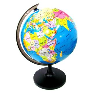 The price of led world globe rotating swivel map of earth atlas 32cm world map globe rotating map educational learning geography gumiabroncs Choice Image