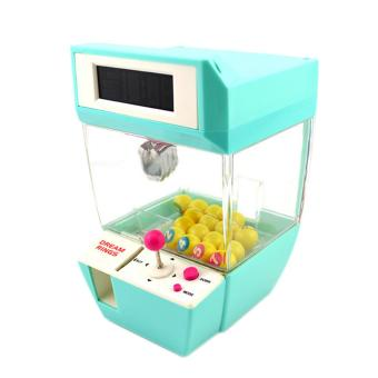 360DSC Coin Operated Candy Grabber Desktop Doll Candy Catcher CraneMachine wtih Alarm Clock Function - Green - intl Price Philippines