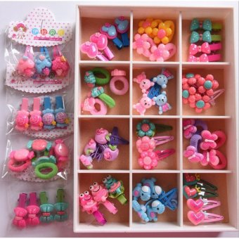 36Pcs Korean styles Baby Headbands kids Hairbands childrenHairclips Accessories - intl