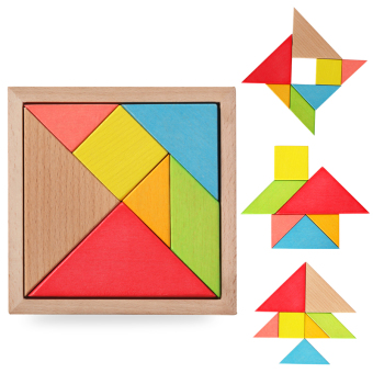 3D classical geometric number of-shaped puzzle