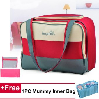 3IN 1 Large Capacity Travel Multi-functional Mummy Baby Diaper Bag