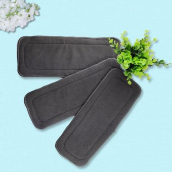 3pc Set Bamboo Charcoal Insert for Cloth Diapers