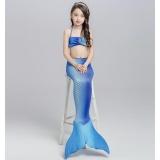 ... 3Pcs Set New Kids Girls Mermaid Tail Swimmable Bikini Set Swimwear Swim Costume Beach Wear ...