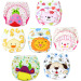 3pcs/lot Waterproof Baby Training Pants Cartoon Designs WashableCloth Diaper Panties for Kids Underwear Nappy Pant - intl