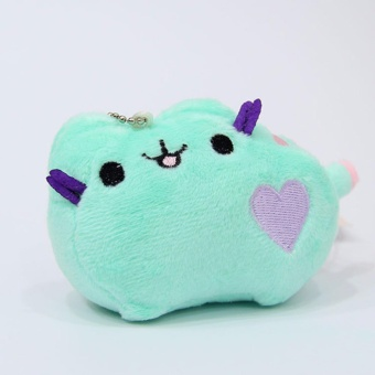 4 Styles 10cm Cute Pusheen Cats Plush Pillow Soft Stuffed AnimalsDoll Toys For Kids Gifts - intl Price Philippines