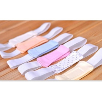 4ever 6pcs/set Baby Diaper Buckle Safety Nappy Belt Fasteners Pins Diaper Fixing Belt - intl - 3