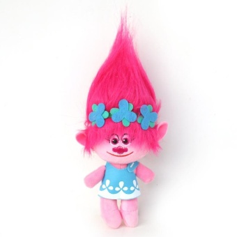 4pcs/lot 30-35cm Large Size Movie Trolls Poppy Branch Dream WorksPlush Stuffed Toys For Kids Gifts - intl