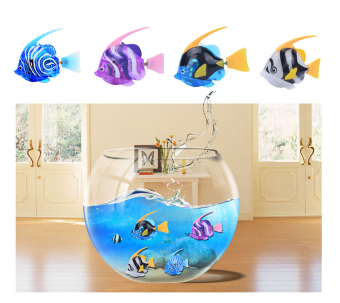 4pcs/pack New arrivals Robo Electric Fish Toy Gifts for Kids