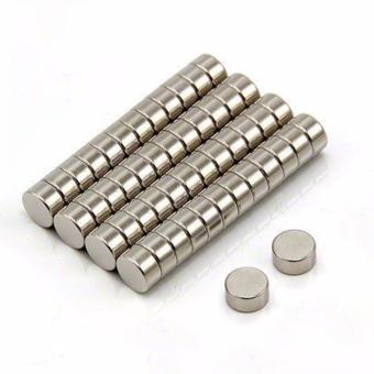50 PCS N35 4mm x 2mm Neodymium Magnet for Speed Rubik's Cube