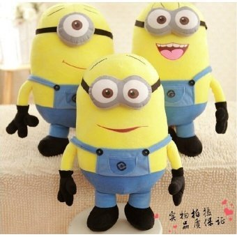 50CM 3 Styles Soft Stuffed Plush Toys Kids Toy Despicable Me MovieMinions Birthday Gift for Child Christmas Gift Baby Doll - intl Price Philippines