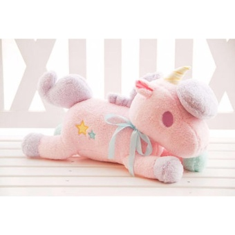 55cm kawaii big size Unicorn plush toys kids toys baby toys stuffedPP cotton plush doll - intl Price Philippines