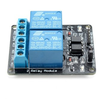 5V 2 way 2--Channel Relay Module With Optocoupler Protection for Arduino