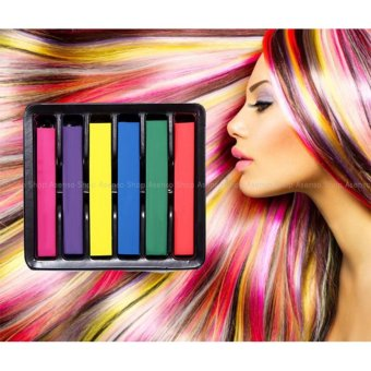 6 Colors Temporary Dye Hair Chalk