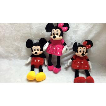 60CM Minnie Mouse doll Cute Mickey Mouse gives the child the bestgift Price Philippines