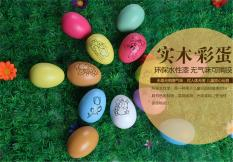 Little love philippines little love color draw for sale 6pcs easter eggs diy children hand painted eggs wooden imitation duck eggs graffiti small gifts gold color without pattern intl negle Image collections