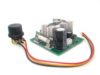 6V-90V 15A Pulse Width PWM DC Motor Speed Controller Switch - intl