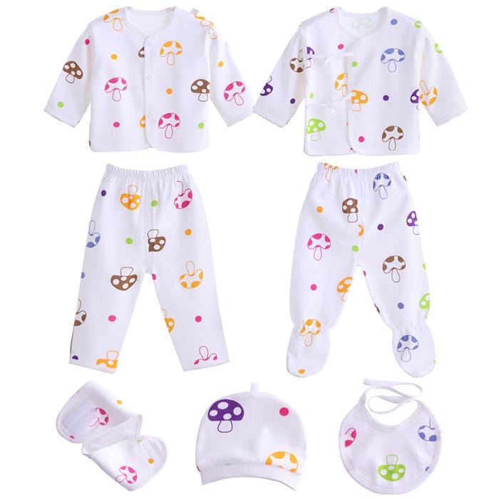 Philippines 7pcs Set Newborn Baby Girls Boys Clothes Cotton