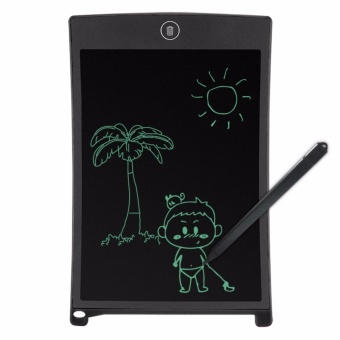 8.5 Inch LCD Writing Tablet Portable Drawing Board(black) with Free LED Watch - 2