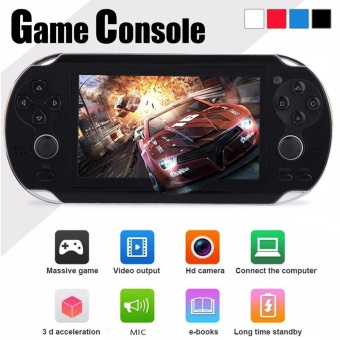 8GB 4.3'' 300 Games Built-In Portable Handheld Video Game ConsolePlayer BK - intl