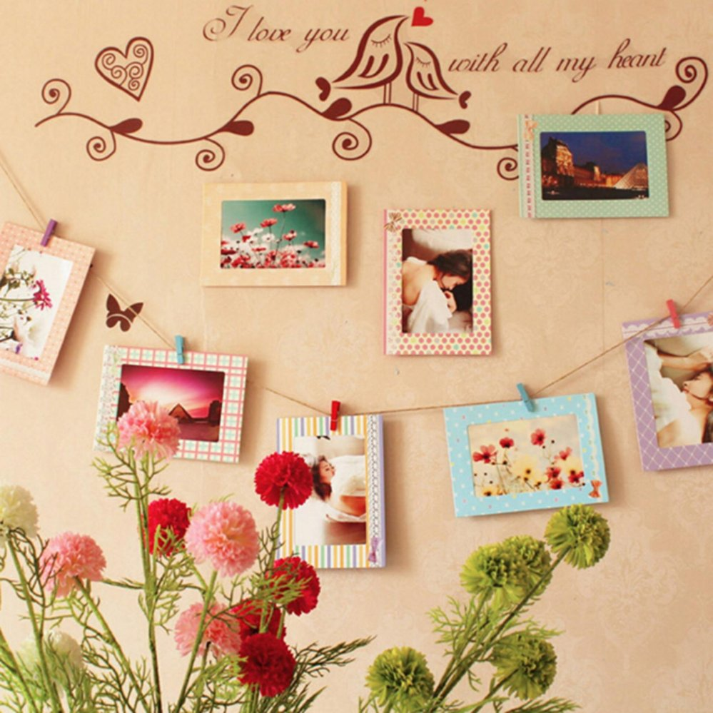 Philippines | 8Pcs 6 Inch Creative Gift DIY Home Decor Photo Frame ...