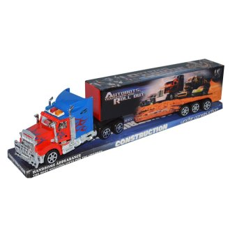 #9090-8A Construction Truck ( Blue/Red )