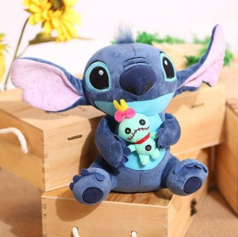 "9"" Kawaii Stitch Plush Toys 23cm Lilo and Stitch Stich Plush Toy Soft Stuffed Animal Doll Kids Toys - intl Price Philippines"