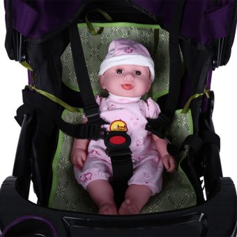 Adjustable Baby Stroller Safety Strap Kids Dining Chair 5 PointHarness Child Pram Seat Belt - intl